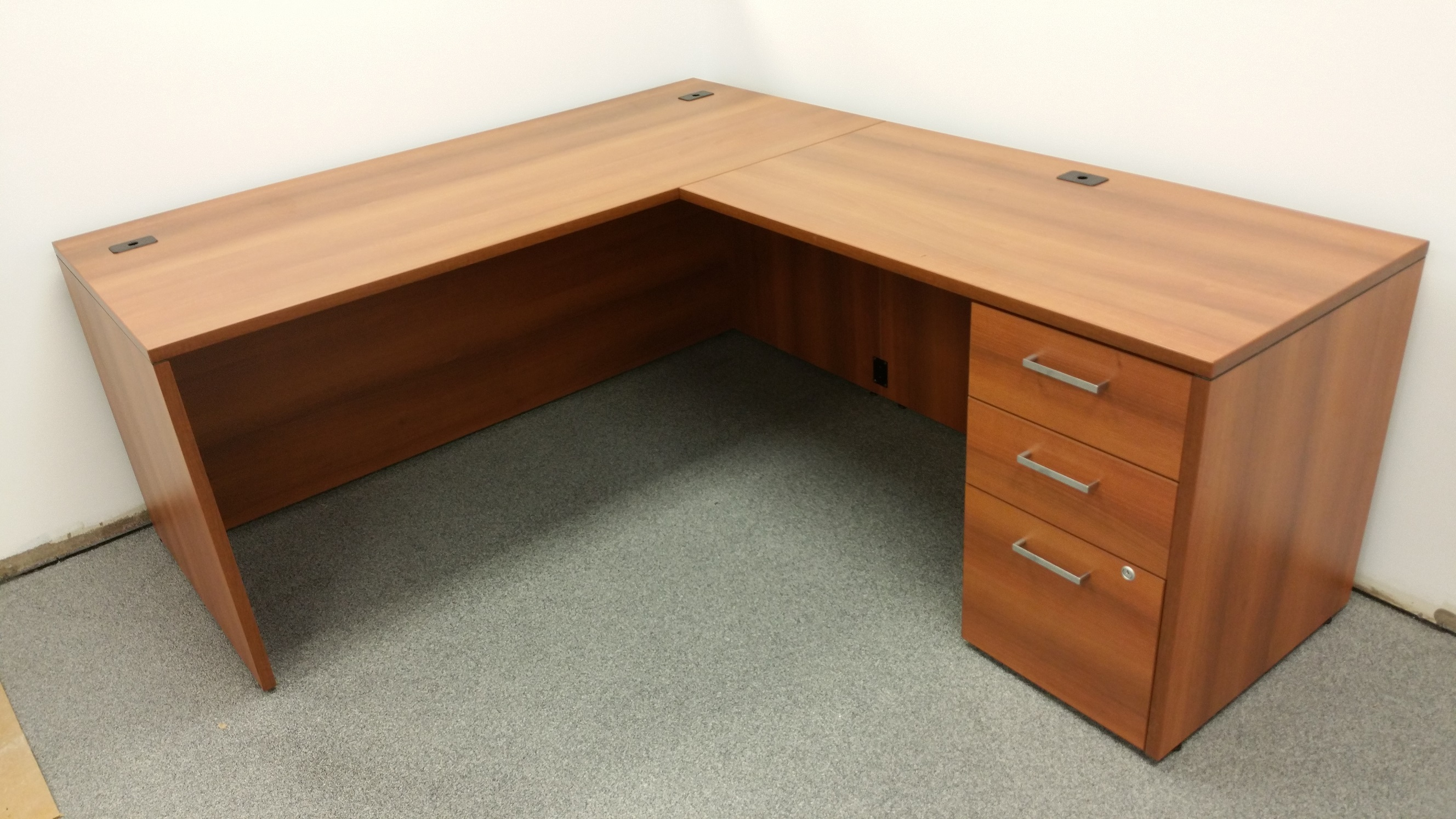 Unique Desk Matt White  Mobler Furniture Richmond Vancouver BC