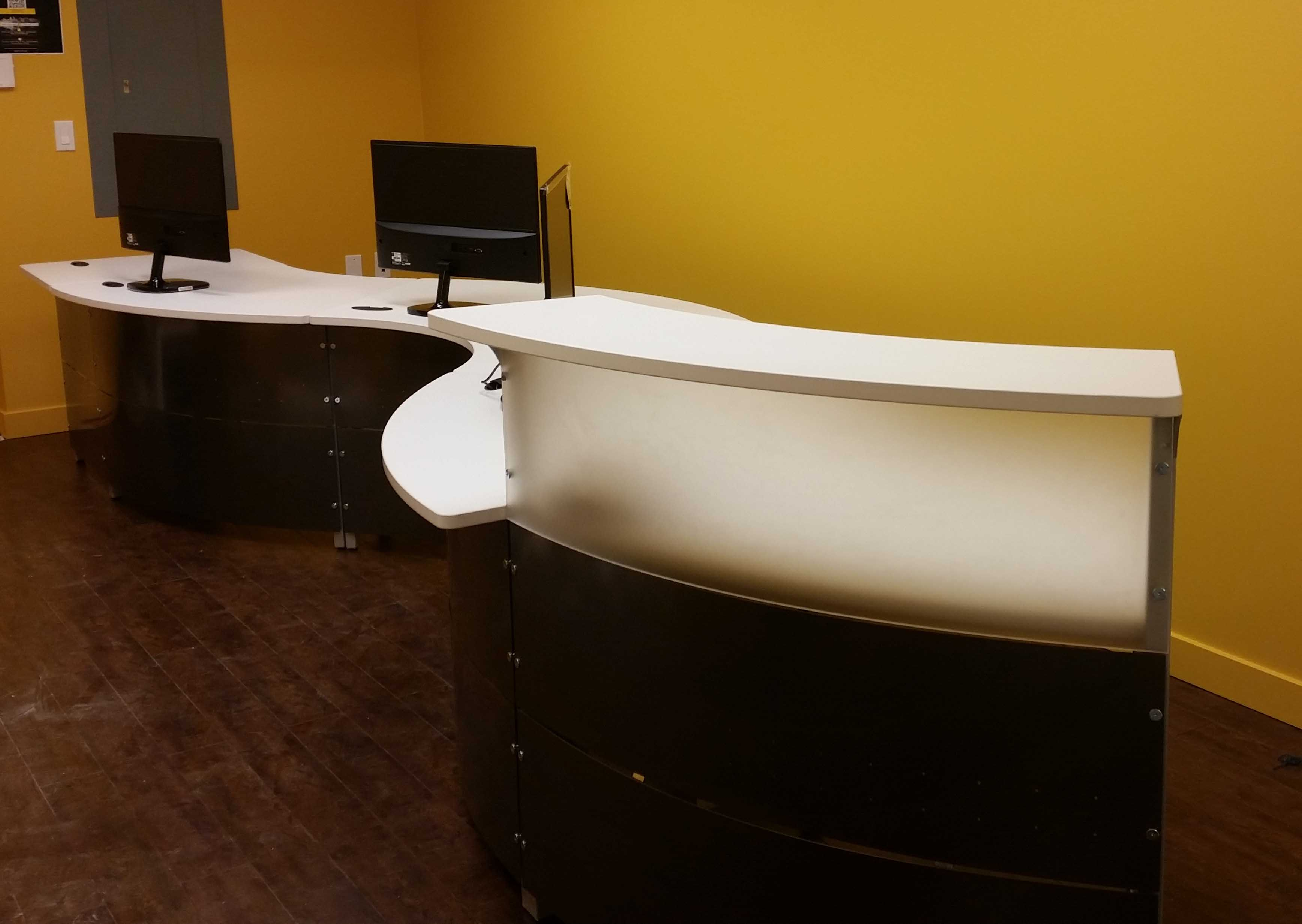 artopex reception desk office furniture vancouver