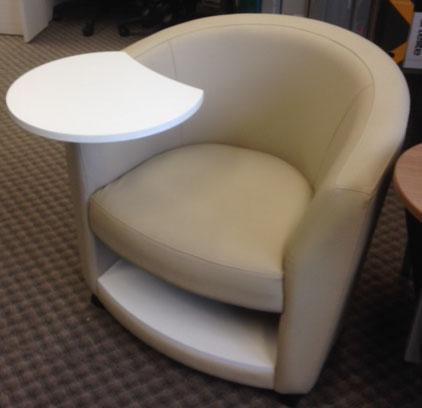 Sirena Club Chair W Lam Shelf Amp R Tab And Castors Buy