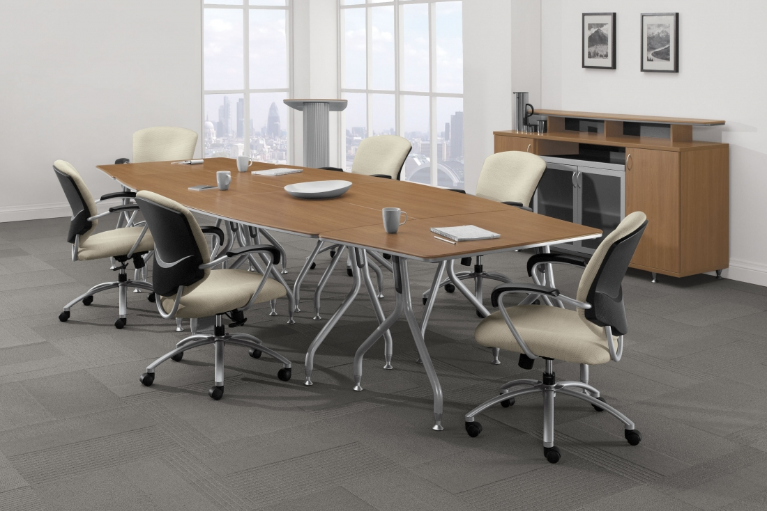 Buy Rite Business Furnishings Office Furniture Vancouver - Office meeting table and chairs