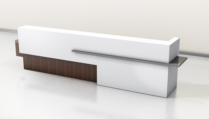 custom built reception desk buy rite business
