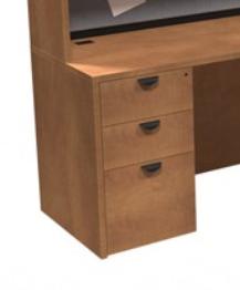 Innovations Box-Box-File Pedestal - Sugar Maple