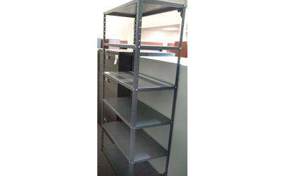 Industrial Metal Shelf