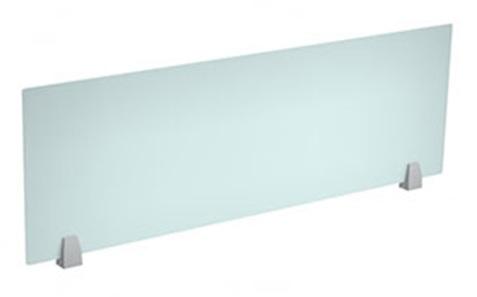 Frosted Plexiglass Panel w/ metal standoffs