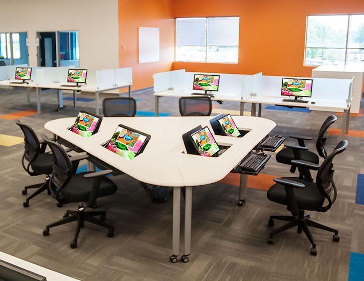 Peachy Smartdesk Laminate Desks Buy Rite Business Furnishings Home Remodeling Inspirations Propsscottssportslandcom