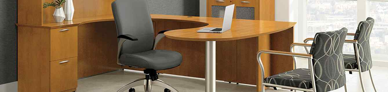 Desks, Workstations, and Reception Desks