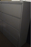 Fortress Series 4 Drawer Lateral Filing Cabinet