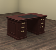 "60"" x 30"" Double Pedestal Desk"