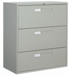 9300 Series 3-Drawer Lateral Filing Cabinet
