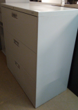 HON 3 Drawer Lateral Filing Cabinet U#150