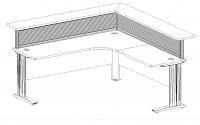 Outlines Titan L-Shape Reception Desk