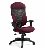 Tye Mesh-Back Chair
