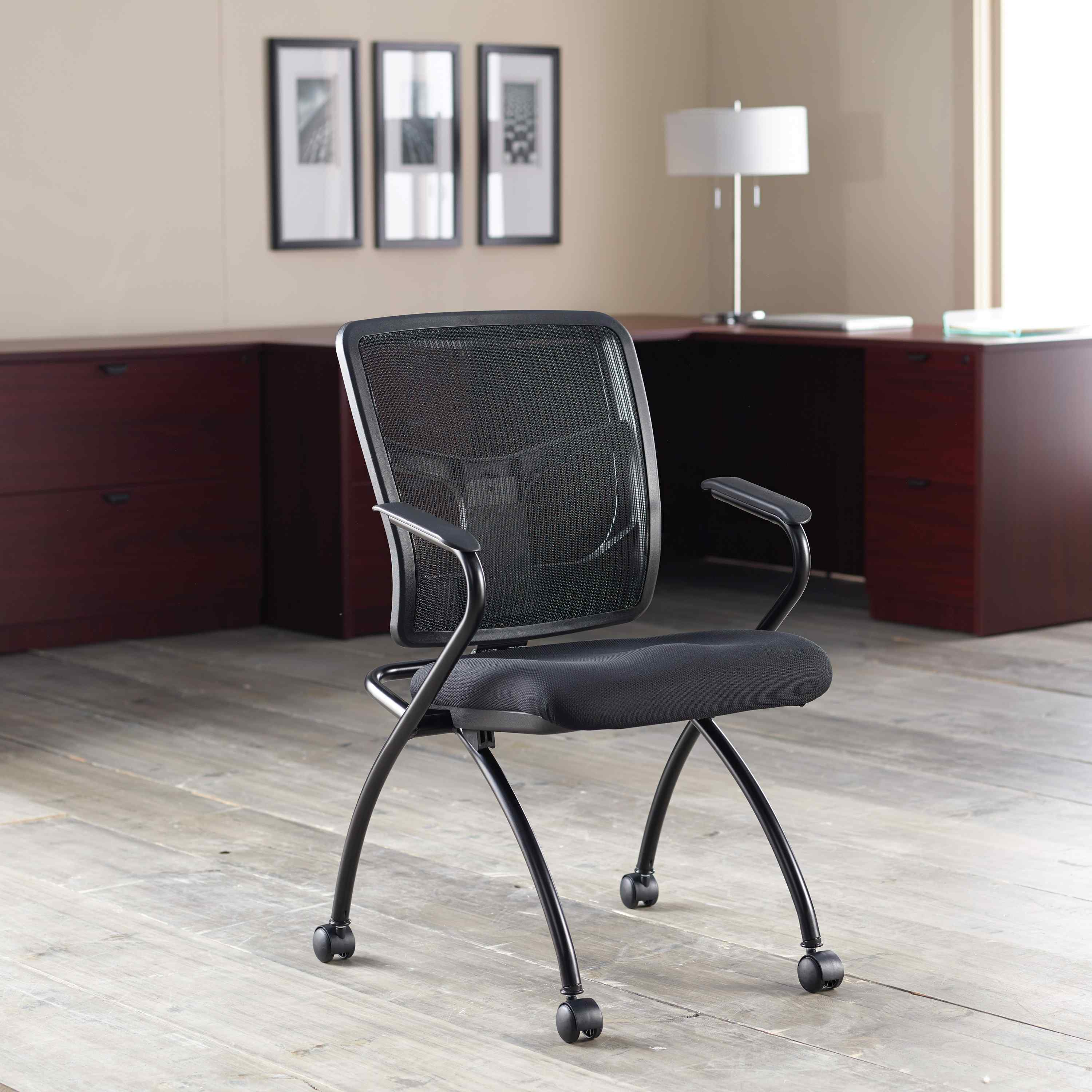 Lorell Nesting Guest Chair Buy Rite Business Furnishings