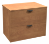 Innovations Office Furniture - modern laminate 2-drawer lateral filing cabinet