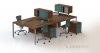 Links provides top quality commercial grade laminate benching systems, ideal for open office layouts. Canadian-made, Links benching systems can provide your business with reliable, long lasting and aesthetically pleasing desking.