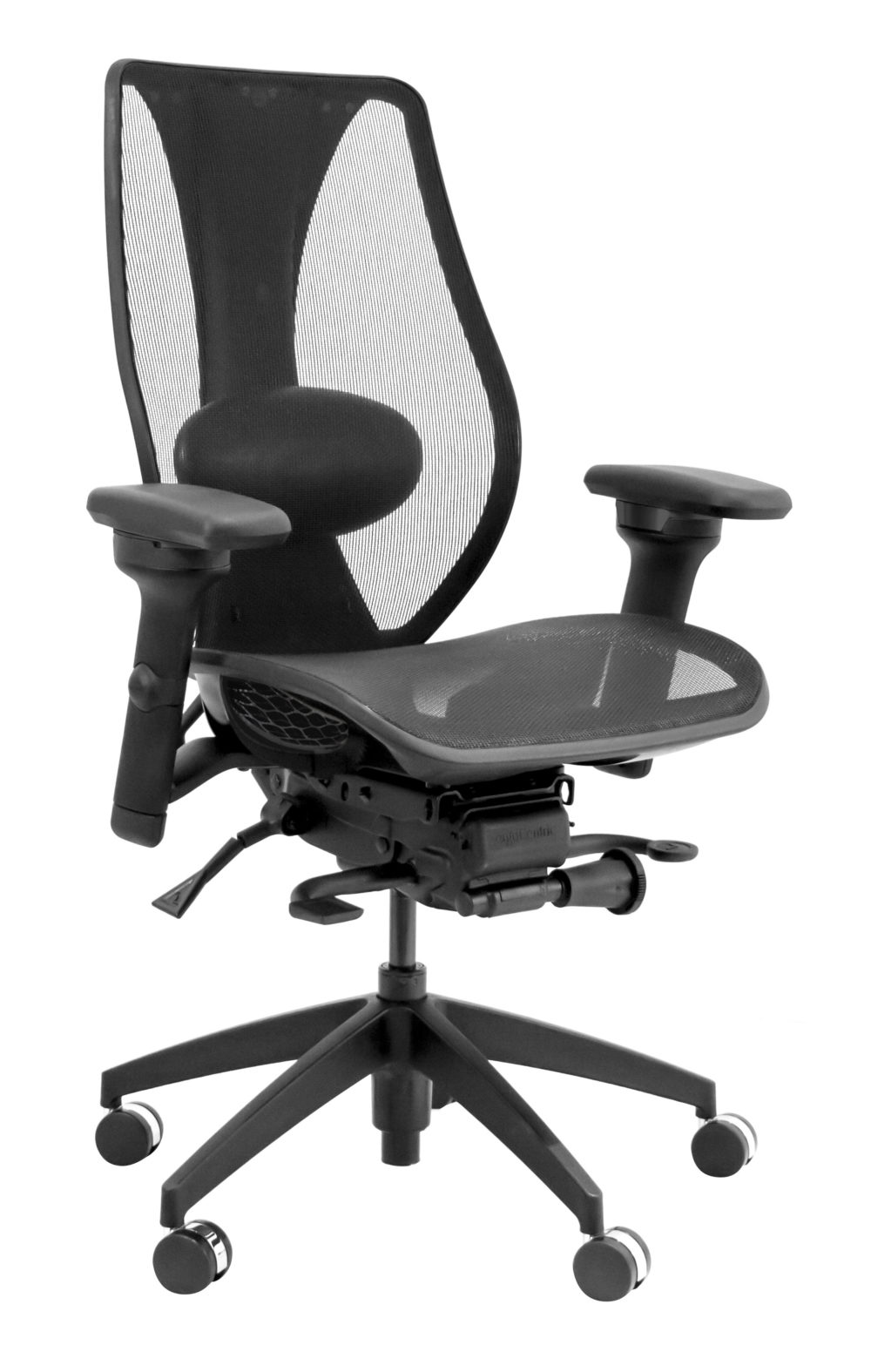 Tcentric hybrid ergonomic chair buy rite business for Chair design ergonomics